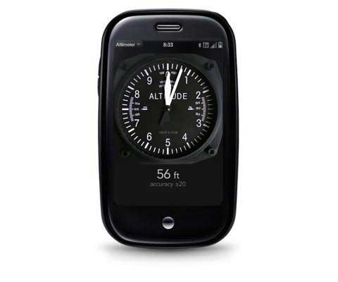 Altimeter Kaboom Apps - Altitude measurement app